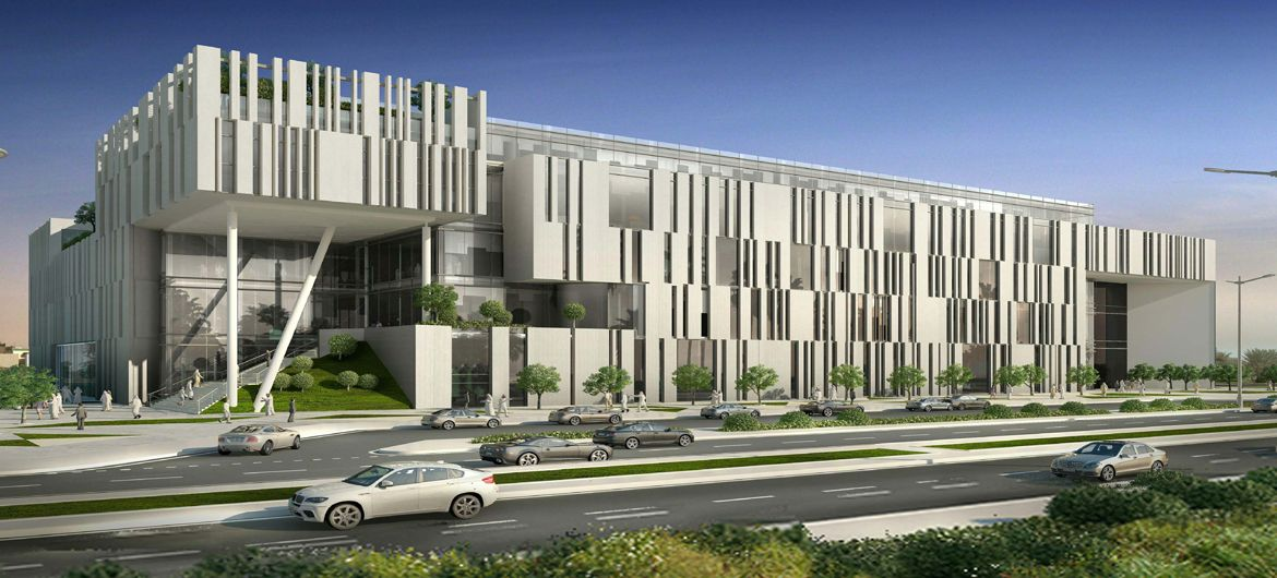 Construction of Qatar University - New College of Education Building